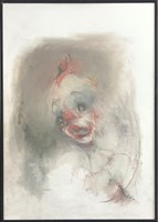 Obraz do salonu artysty Bożena Wahl pod tytułem Bez tytułu 021