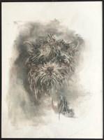Obraz do salonu artysty Bożena Wahl pod tytułem Bez tytułu 022