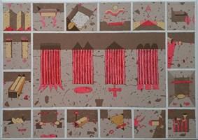 Obraz do salonu artysty Jacek Wojciechowski pod tytułem Quidquid it Est timeo Danaos et Dona ferentes