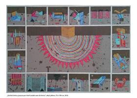 Obraz do salonu artysty Jacek Wojciechowski pod tytułem Zachód słońca, jeszcze parę chwil zostało na m do końca