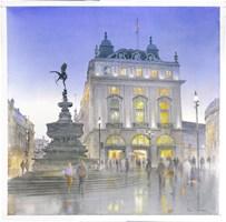Obraz do salonu artysty Michał  Suffczyński pod tytułem Piccadily Circus, London