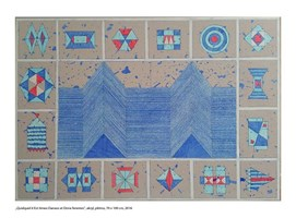 Obraz do salonu artysty Jacek Wojciechowski pod tytułem Quidquid it Est timeo Danaos et Dona ferentes ll