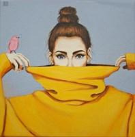 Obraz do salonu artysty Renata Magda pod tytułem Pink bird