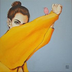Obraz do salonu artysty Renata Magda pod tytułem Żółty poranek ..