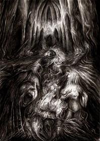 Obraz do salonu artysty Andrzej Masianis pod tytułem Pierwszy egzorcyzm