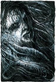 Obraz do salonu artysty Andrzej Masianis pod tytułem Wampir