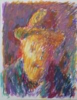 Obraz do salonu artysty Jerzy Panek pod tytułem Autoportret 3