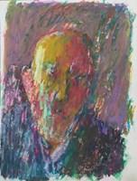 Obraz do salonu artysty Jerzy Panek pod tytułem Autoportret 7