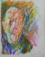 Obraz do salonu artysty Jerzy Panek pod tytułem Autoportret 8