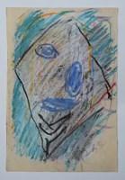 Obraz do salonu artysty Jerzy Panek pod tytułem Autoportret 12