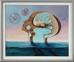 Obraz do salonu artysty Andrzej Wroński pod tytułem Chwila ciszy