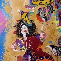 Obraz do salonu artysty Natalia Pastuszenko pod tytułem Wariatka