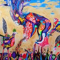 Obraz do salonu artysty Natalia Pastuszenko pod tytułem 7 zbóż