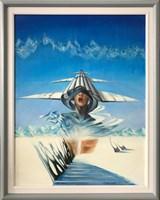 Obraz do salonu artysty Andrzej Wroński pod tytułem Zimny wiatr