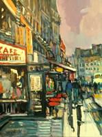 Obraz do salonu artysty Piotr Rembieliński pod tytułem Paryż I