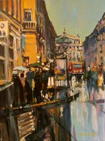 Obraz do salonu artysty Piotr Rembieliński pod tytułem Paryż II