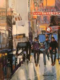 Obraz do salonu artysty Piotr Rembieliński pod tytułem Paryż III