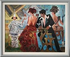 Obraz do salonu artysty Andrzej Wroński pod tytułem Rywale