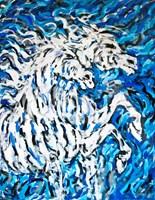 Obraz do salonu artysty Adam Bojara pod tytułem K11 Konie