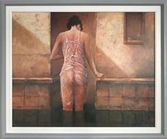 Obraz do salonu artysty Andrzej Wroński pod tytułem Po kąpieli