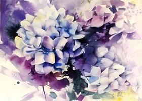 Obraz do salonu artysty Karina Jaźwińska pod tytułem Hydrangea