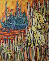 Obraz do salonu artysty Adam Bojara pod tytułem O21 Port