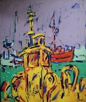 Obraz do salonu artysty Adam Bojara pod tytułem O18 Port