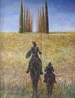Obraz do salonu artysty Andrzej Wroński pod tytułem Don Kichot