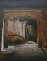 Obraz do salonu artysty Jan Bembenista pod tytułem Brama