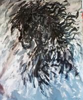 Obraz do salonu artysty Adam Bojara pod tytułem K44 Konie