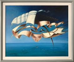 Obraz do salonu artysty Andrzej Wroński pod tytułem Przestroga