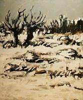 Obraz do salonu artysty Adam Bojara pod tytułem O Pejzaż
