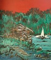Obraz do salonu artysty Adam Bojara pod tytułem O 5 solina