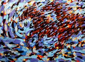 Obraz do salonu artysty Adam Bojara pod tytułem K66 Konie