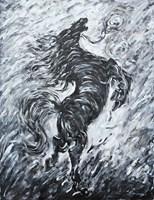 Obraz do salonu artysty Adam Bojara pod tytułem K49 Konie