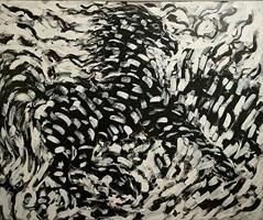 Obraz do salonu artysty Adam Bojara pod tytułem K47 Konie
