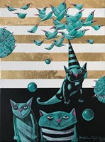 Obraz do salonu artysty Magdalena Rytel-Skorek pod tytułem Wiosna