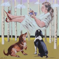Obraz do salonu artysty Małgorzata Łodygowska pod tytułem Ramen