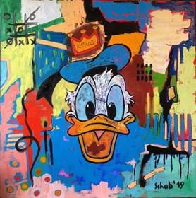 Obraz do salonu artysty David Schab pod tytułem Król Donald