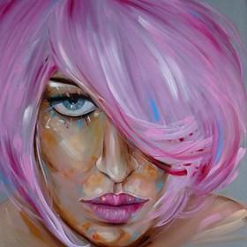 Obraz do salonu artysty Iwona Wierkowska-Rogowska pod tytułem Kobiecość