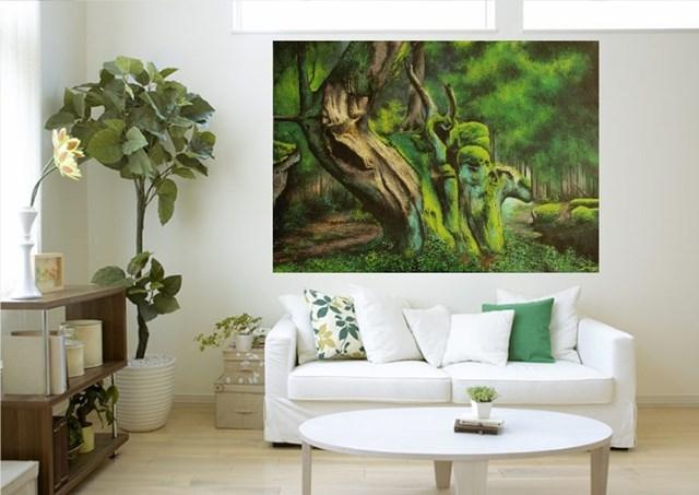 Backwoods - visualisation by Konrad Hamada