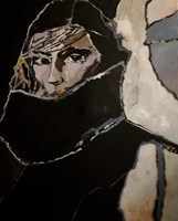 Obraz do salonu artysty Iwona Dombek Rybczyńska pod tytułem Prolog