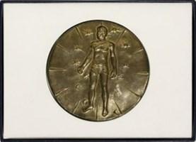 Obraz do salonu artysty Igor Mitoraj pod tytułem Medal