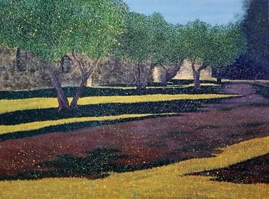 Obraz do salonu artysty Jacek Malinowski pod tytułem San Gimignano