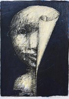 Obraz do salonu artysty Piotr Kamieniarz pod tytułem Biurokracja