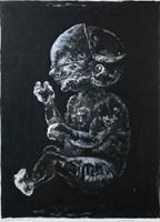 Obraz do salonu artysty Piotr Kamieniarz pod tytułem Maska III