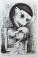 Obraz do salonu artysty Piotr Kamieniarz pod tytułem Matka I