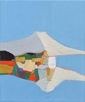 Obraz do salonu artysty Zbigniew Nowosadzki pod tytułem Biała wyspa