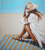 Obraz do salonu artysty Renata Magda pod tytułem Płynące myśli