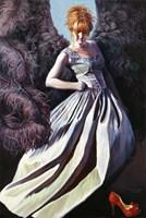 Obraz do salonu artysty Joanna Sierko-Filipowska pod tytułem Czerwony  pantofelek I